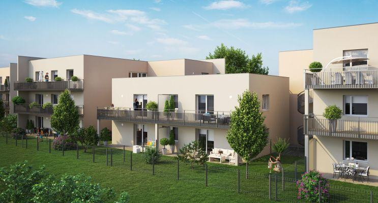 Photo n°3 du Résidence « Les Terrasses Du Village » programme immobilier neuf en Loi Pinel à Woippy