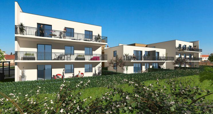 Photo n°5 du Résidence « Les Terrasses Du Village » programme immobilier neuf en Loi Pinel à Woippy