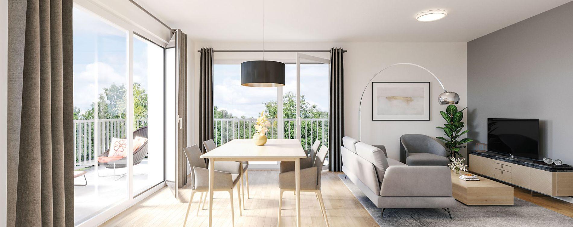 Armentières : programme immobilier neuve « Carré des Octaves » en Loi Pinel (4)