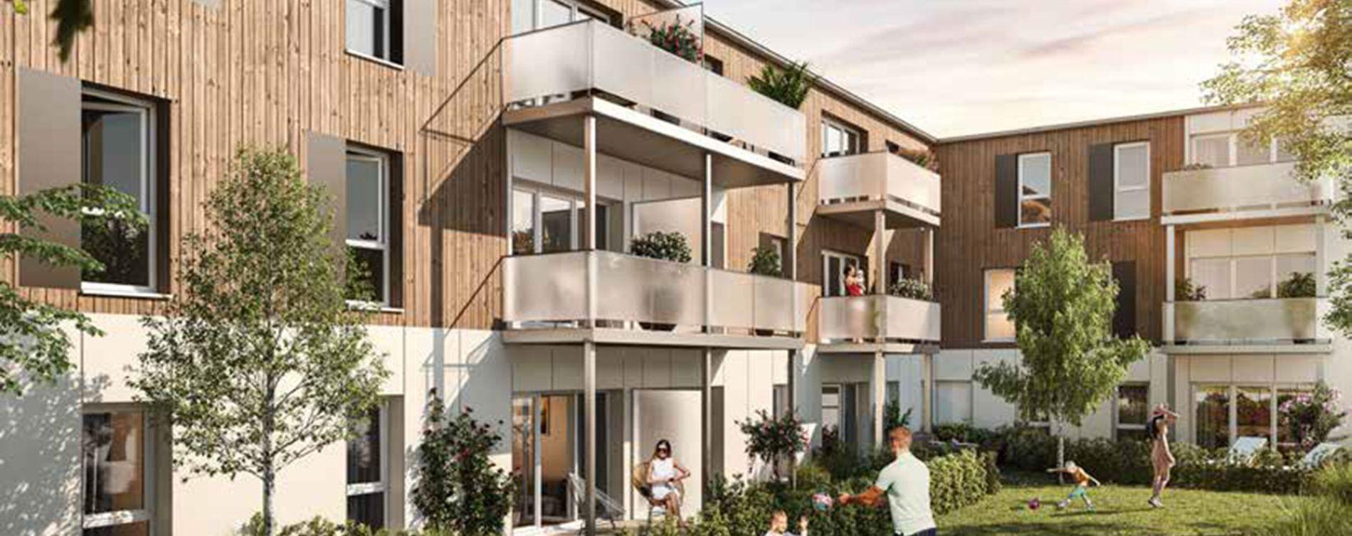 Armentières : programme immobilier neuve « Orig In » en Loi Pinel