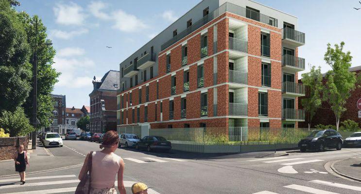 Photo du Résidence « Résidence Le Consul » programme immobilier neuf en Loi Pinel à Armentières