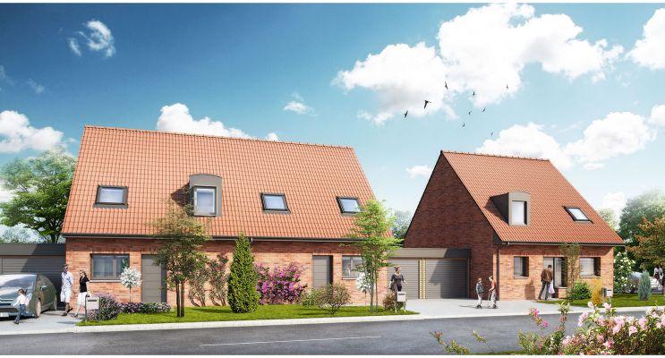 Bauvin programme immobilier neuf « La Roselière »