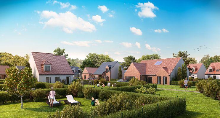 Photo du Résidence « Le Domaine des Vergers » programme immobilier neuf à Bauvin