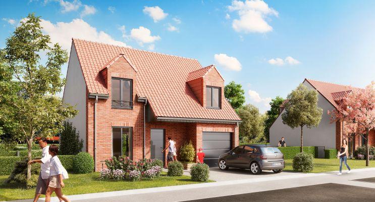 Photo n°4 du Résidence « Le Domaine Des Vergers » programme immobilier neuf à Bauvin