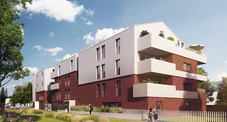 Photo du Résidence « Le Clos de Sainte-Marie » programme immobilier neuf en Loi Pinel à Bondues
