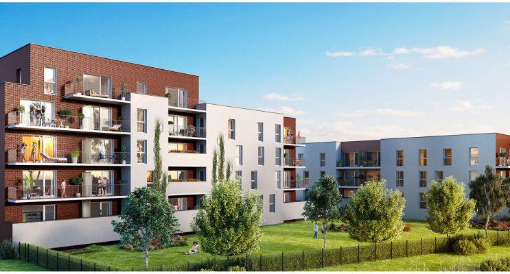 Photo n°2 du Résidence « Vitruve » programme immobilier neuf en Loi Pinel à Capinghem