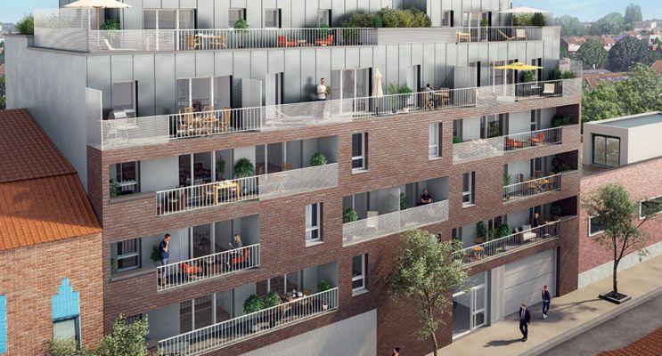 Croix : programme immobilier neuf « 113 Plazza » en Loi Pinel