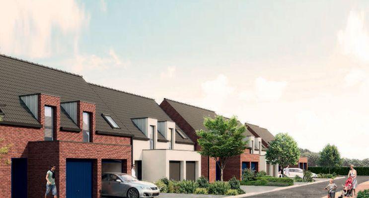 Photo du Résidence « La Minoterie » programme immobilier neuf à Cuincy