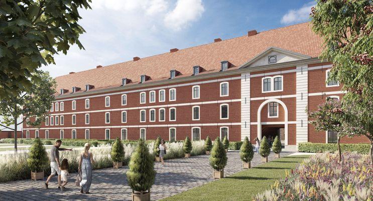 Photo du Résidence « Caserne de Caux » programme immobilier à rénover en Monument Historique à Douai