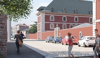 Douai programme immobilier à rénover « Les Jardins de Caux » en Monument Historique  (2)