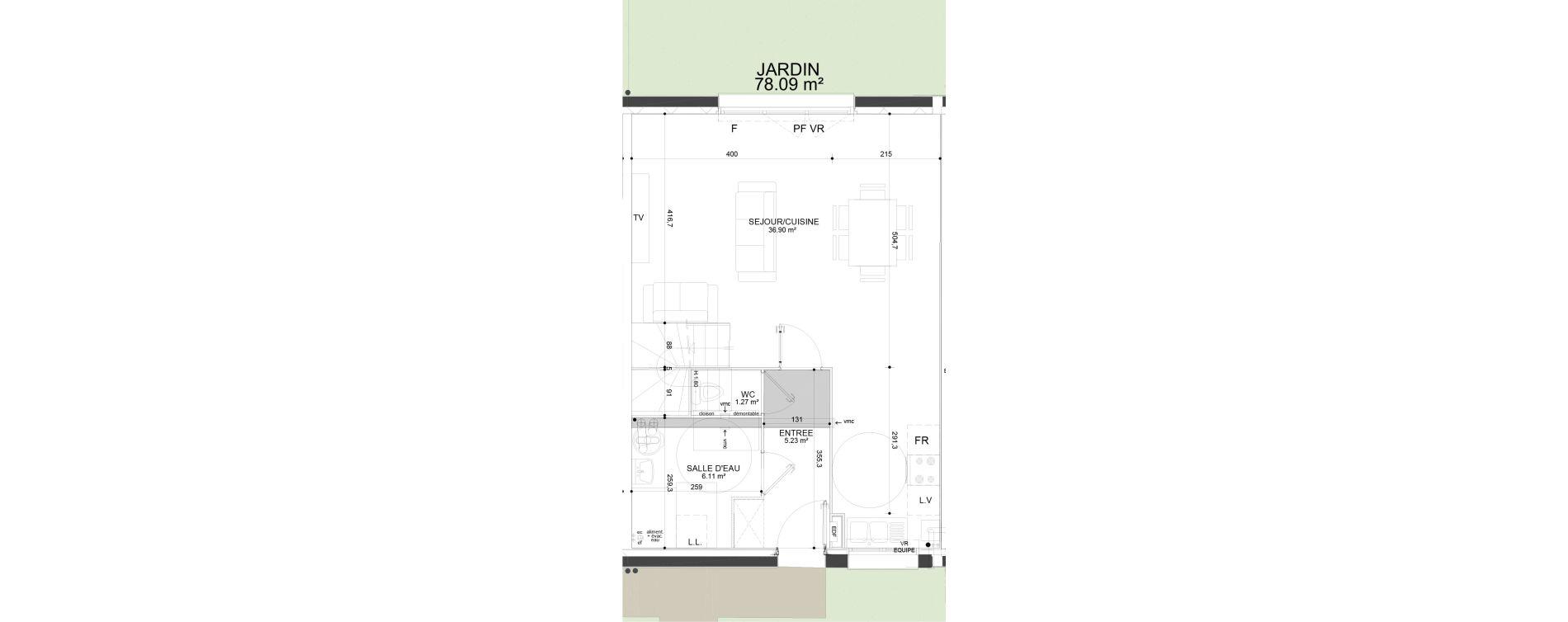 Maison T4 de 83,74 m2 à Douai Frais marais