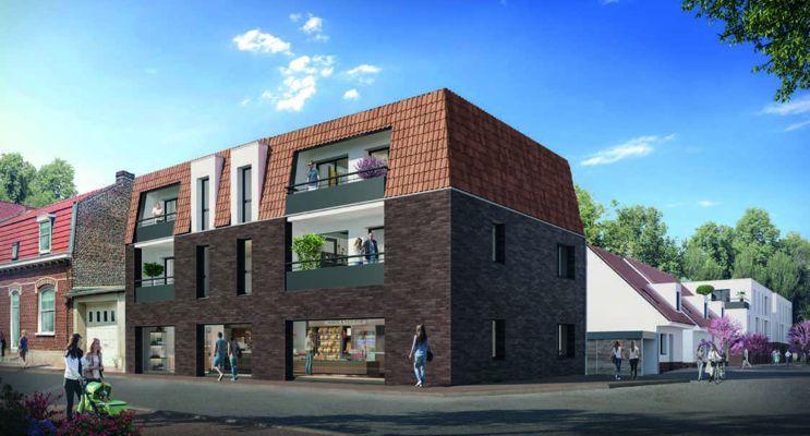 Douai : programme immobilier neuf « Résidence Costes et Bellonte » en Loi Pinel