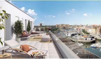 Dunkerque programme immobilier neuf « Belle Escale » en Loi Pinel