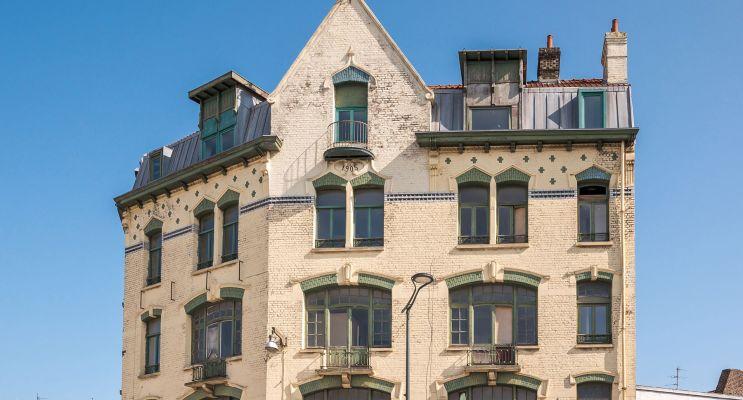 Dunkerque : programme immobilier à rénover « Place de la Gare » en Déficit Foncier
