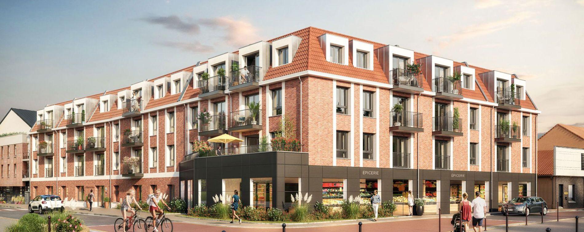 Emmerin : programme immobilier neuve « Emeraude » en Loi Pinel