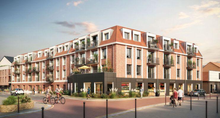 Emmerin : programme immobilier neuf « Emeraude » en Loi Pinel