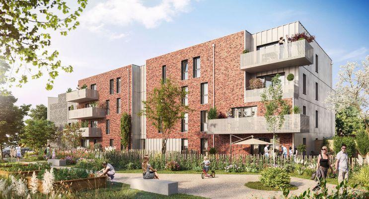 Faches-Thumesnil : programme immobilier neuf « Azerty » en Loi Pinel