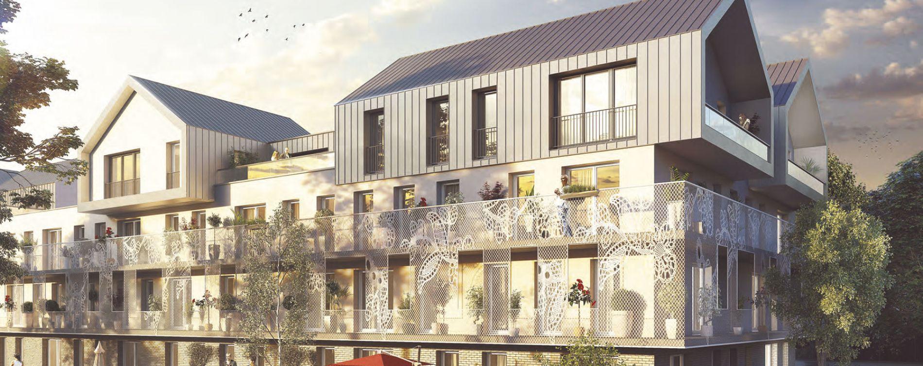 Faches-Thumesnil : programme immobilier neuve « En'Aparté » en Loi Pinel (2)