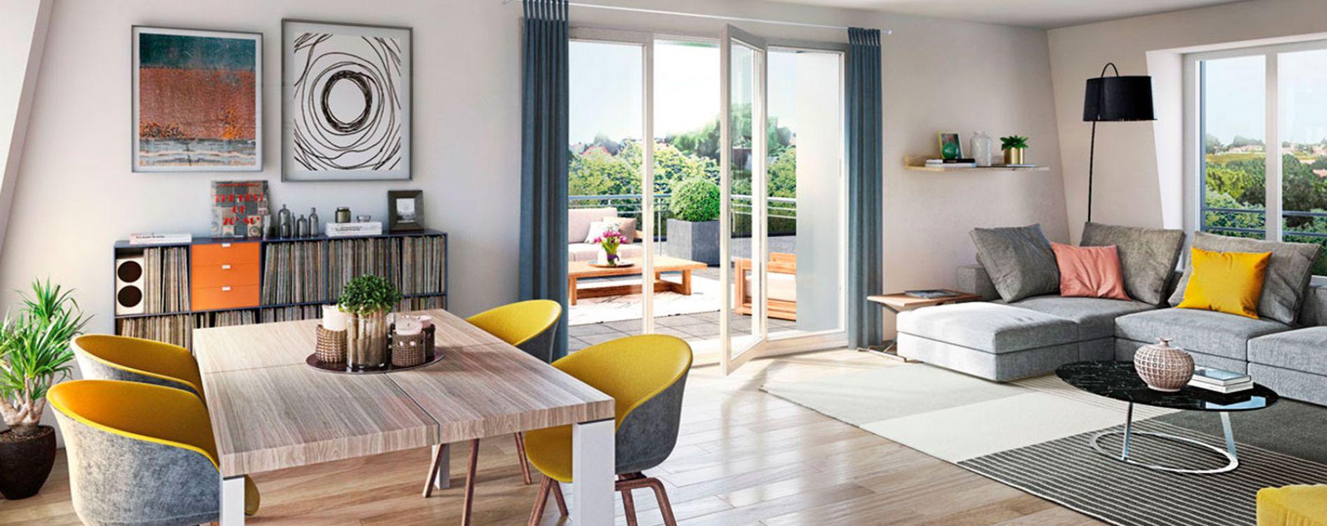 Faches-Thumesnil : programme immobilier neuve « En'Aparté » en Loi Pinel (3)