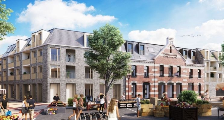 Photo du Résidence « Triptik » programme immobilier neuf en Loi Pinel à Faches-Thumesnil