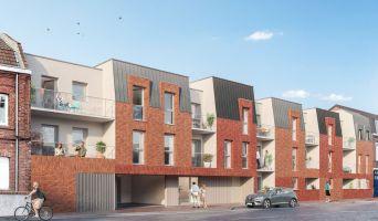 Haubourdin programme immobilier neuf « Incandescence » en Loi Pinel