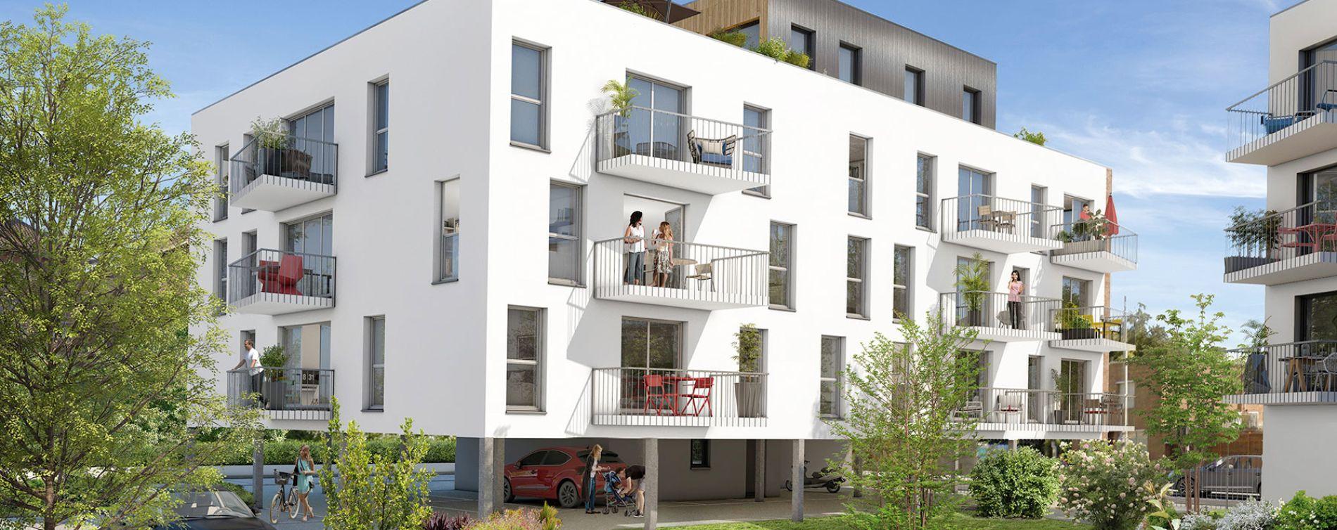 Haubourdin : programme immobilier neuve « Le Capitole » en Loi Pinel (2)