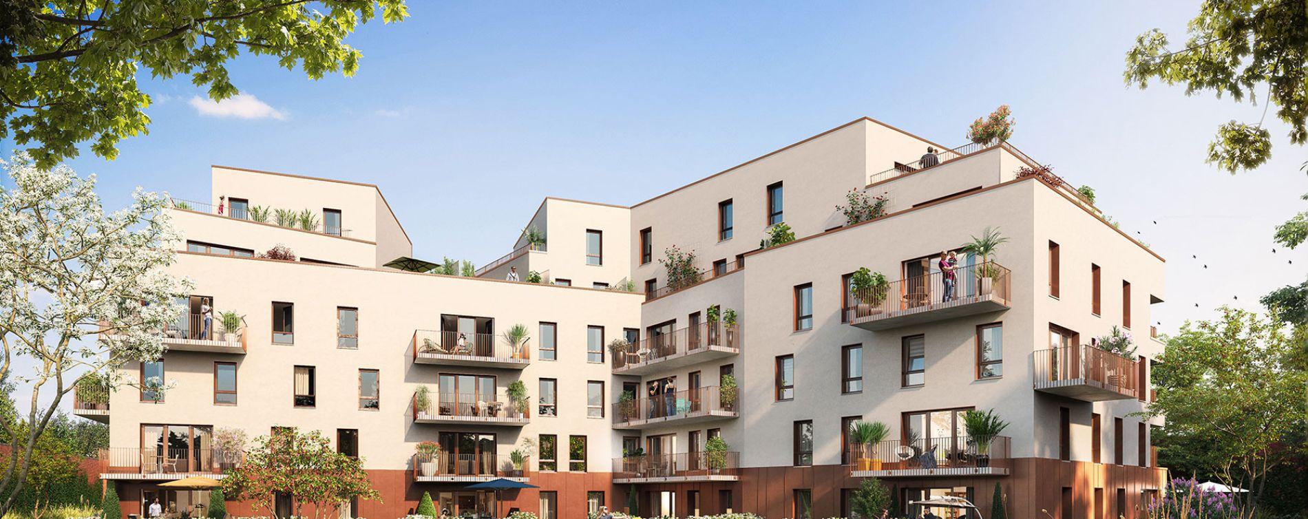 Haubourdin : programme immobilier neuve « Rive Gauche » en Loi Pinel