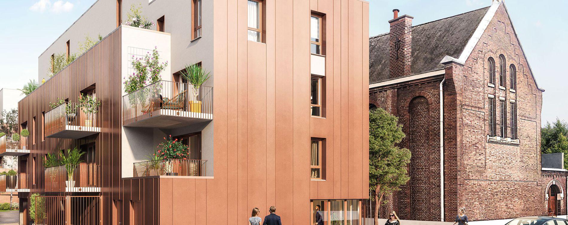 Haubourdin : programme immobilier neuve « Rive Gauche » en Loi Pinel (2)