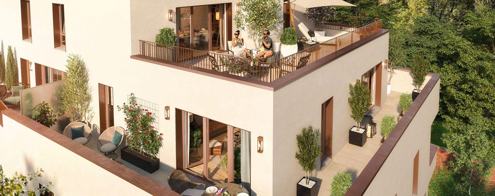 Haubourdin : programme immobilier neuve « Rive Gauche » en Loi Pinel (4)