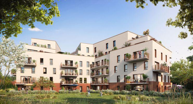Haubourdin : programme immobilier neuf « Rive Gauche » en Loi Pinel
