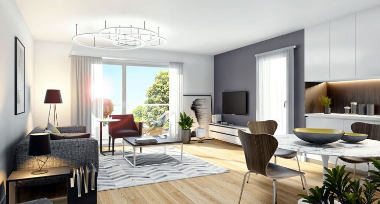 Résidence « Symbioz » programme immobilier neuf en Loi Pinel à Haubourdin n°3