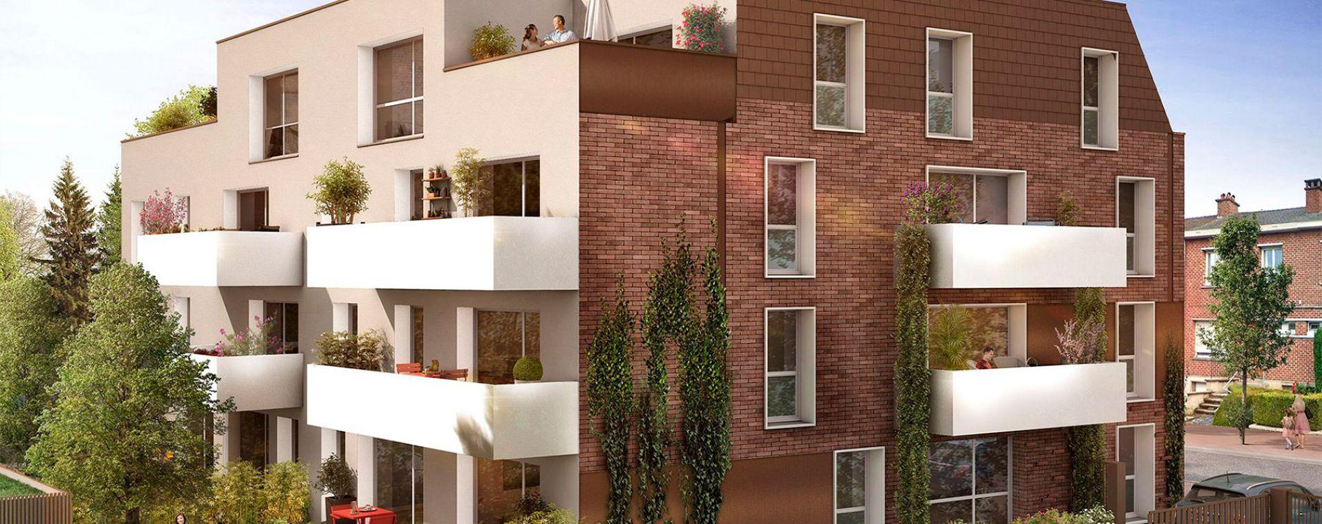 Hem : programme immobilier neuve « Le 133 » en Loi Pinel
