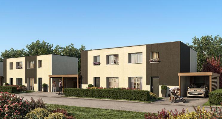 Houplines : programme immobilier neuf « Domaine Adèle » en Loi Pinel