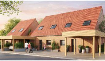 Photo du Résidence « Le Hameau de Cazeaux » programme immobilier neuf en Loi Pinel à La Chapelle-d'Armentières