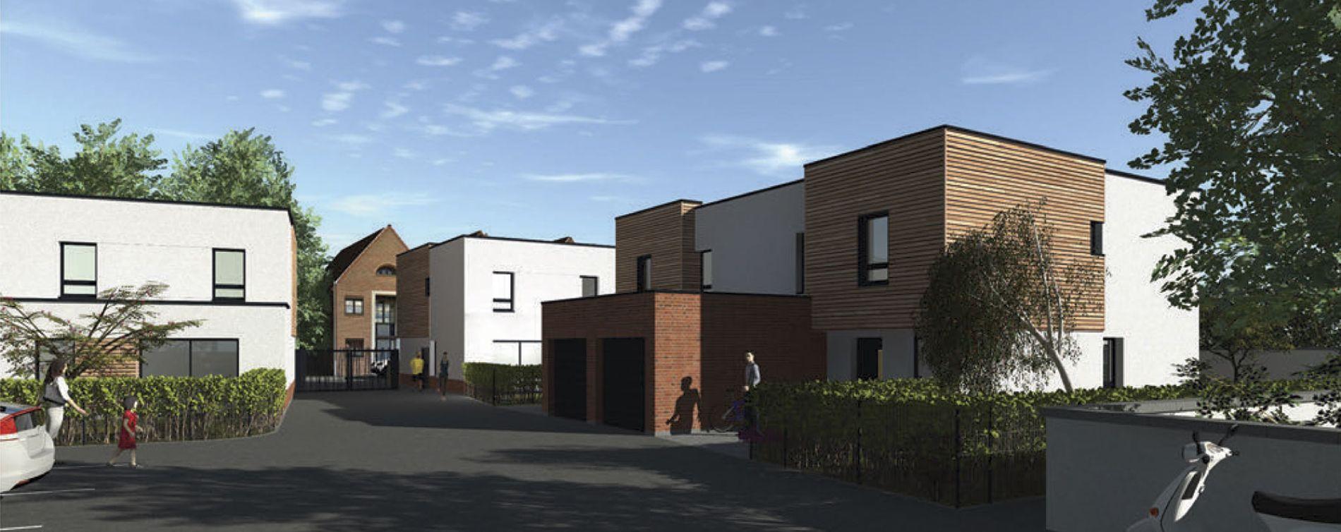La Madeleine : programme immobilier neuve « Le Square Léon » en Loi Pinel