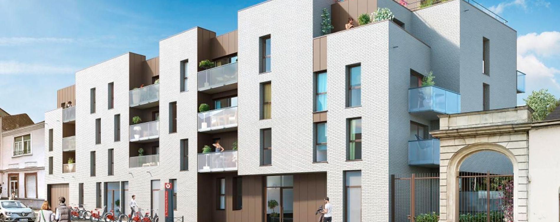 Lille : programme immobilier neuve « 104 Faubourg » (2)