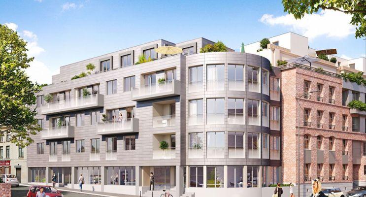 Résidence « Constellation » programme immobilier à rénover en Loi Pinel ancien à Lille