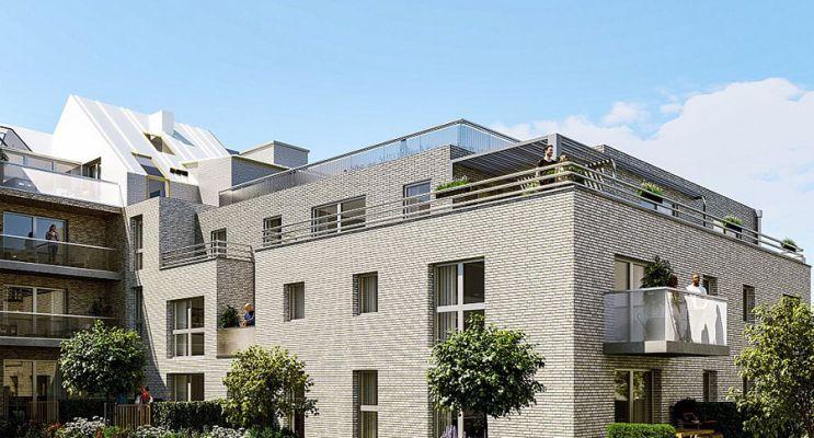 Photo du Résidence « Convergence » programme immobilier neuf en Loi Pinel à Lille