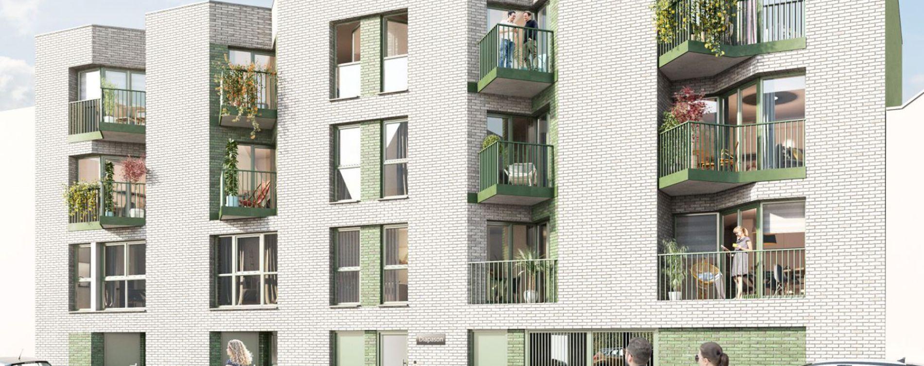 Lille : programme immobilier neuve « Diapason » en Loi Pinel