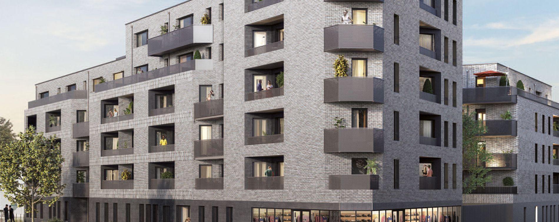 Lille : programme immobilier neuve « Edenium »