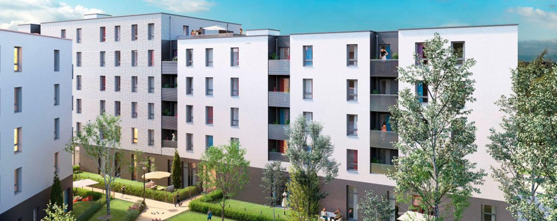 Lille : programme immobilier neuve « Edenium » (2)