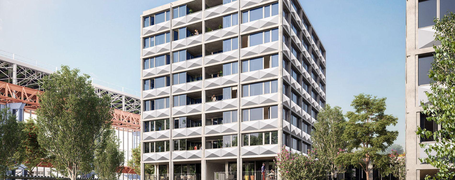 Lille : programme immobilier neuve « Ekko » en Loi Pinel