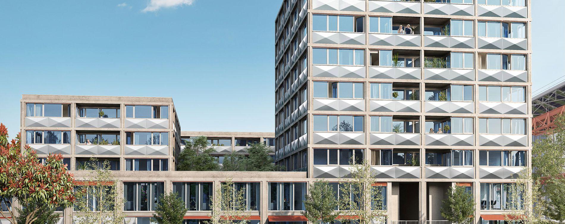 Lille : programme immobilier neuve « Ekko » en Loi Pinel (2)