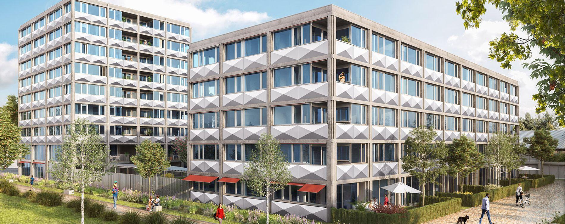 Lille : programme immobilier neuve « Ekko » en Loi Pinel (3)