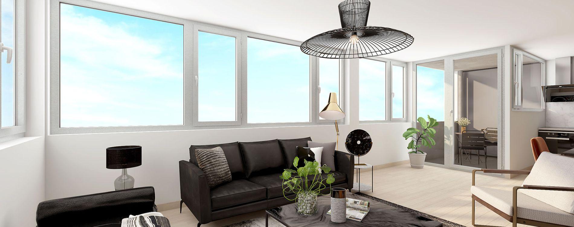 Lille : programme immobilier neuve « Ekko » en Loi Pinel (5)