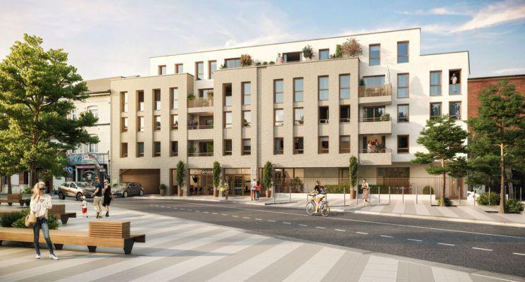 Lille : programme immobilier neuf « Filbert » en Loi Pinel