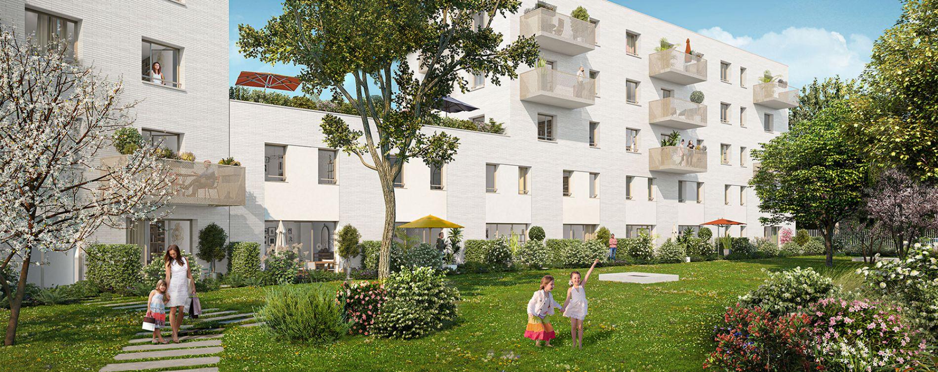 Lille : programme immobilier neuve « Green Square » en Loi Pinel