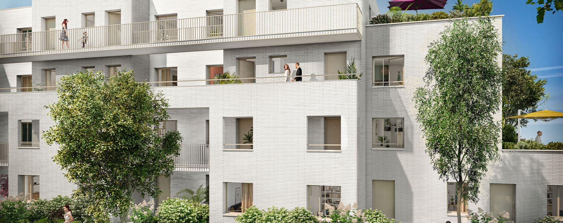Lille : programme immobilier neuve « Green Square » en Loi Pinel (3)