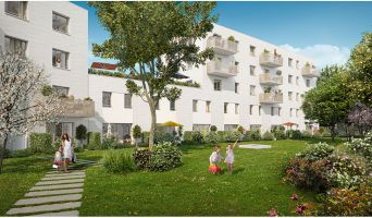 Lille : programme immobilier neuf « Green Square » en Loi Pinel