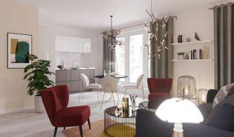 Lille programme immobilier neuve « Iter Vitae » en Loi Pinel  (2)